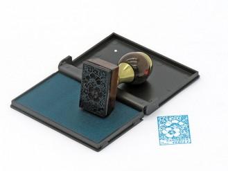 Ex Libris rectangular 40x25 mm.