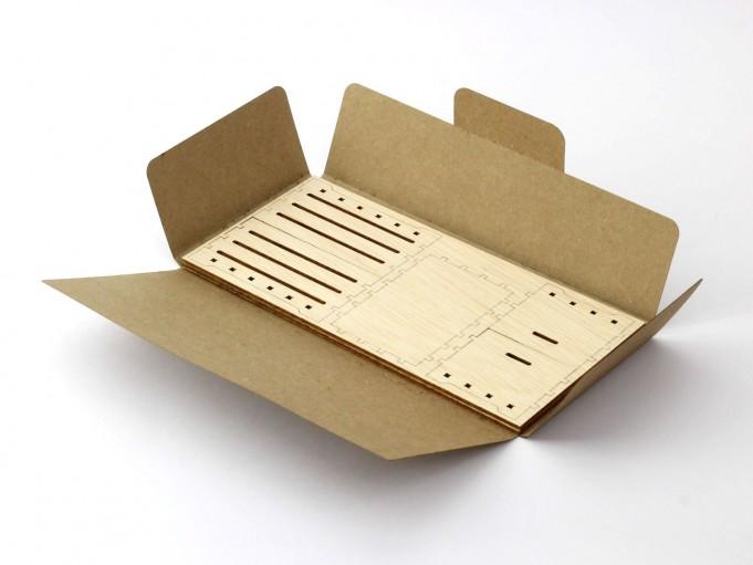 Kajhuchä Frutarj - Caja kit abierta