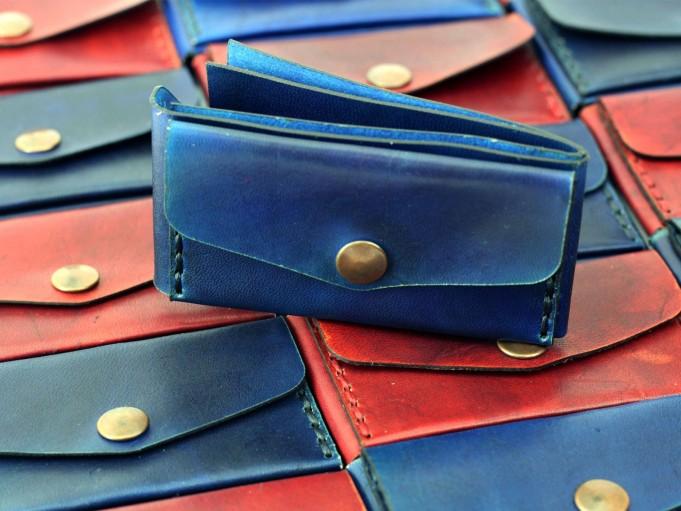 Microbilletera Azul - Frente