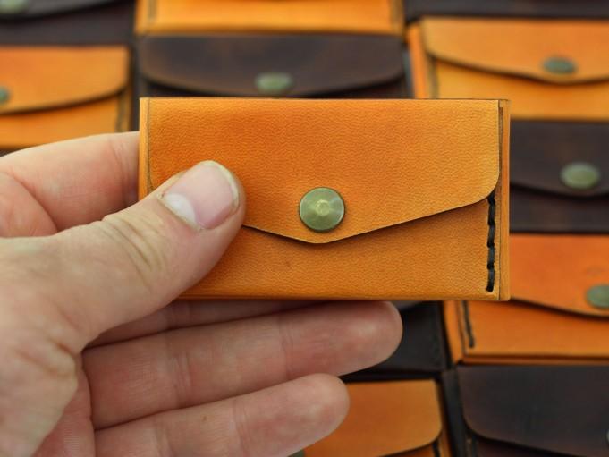 Microbilletera Anaranjado- Frente