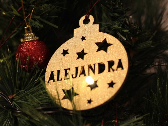 Bola Navidad - Alejandra