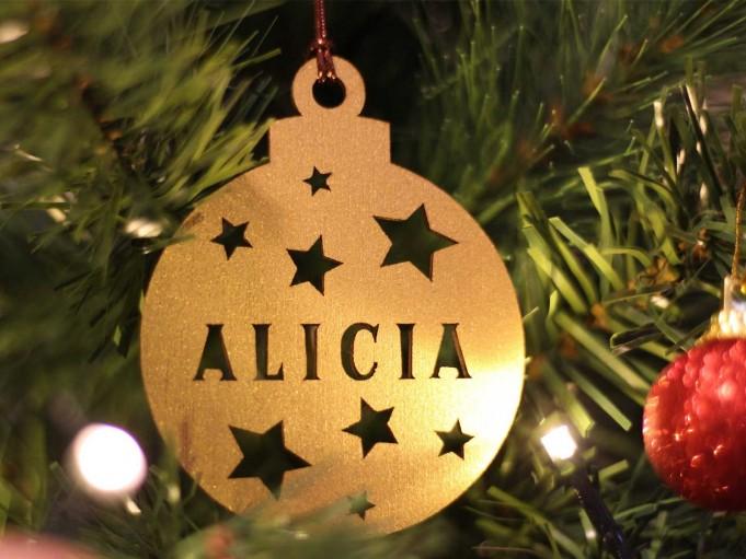 Bola Navidad - Alicia