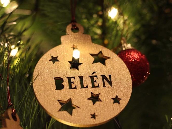 Bola Navidad - Belén
