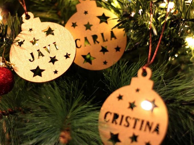 Bola Navidad - Carla, Cristina y Carla