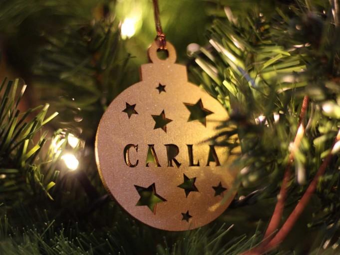 Bola Navidad - Carla