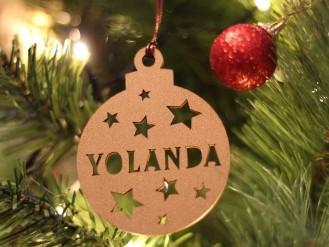 Bola Navidad - Yolanda