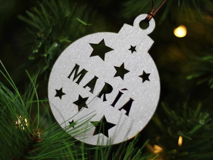 Bola Navidad - María