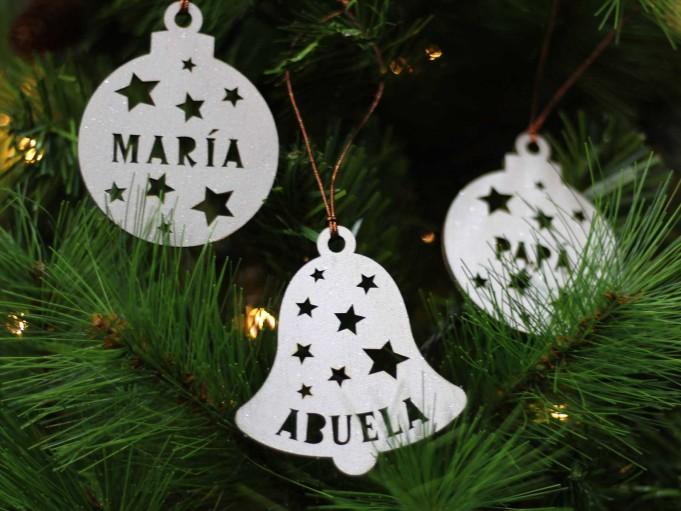 Bola Navidad - María, abuela y papá