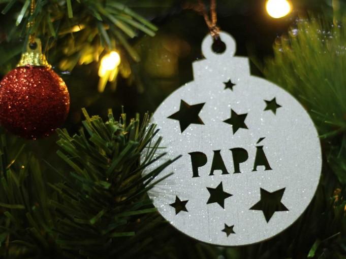 Bola Navidad - papá