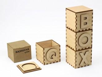Kajhuchä Q-Box - QBOX vertical con envase