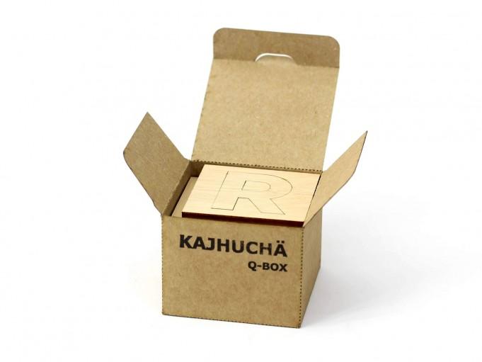 Kajhuchä Q-Box - envase abierto con piezas dentro