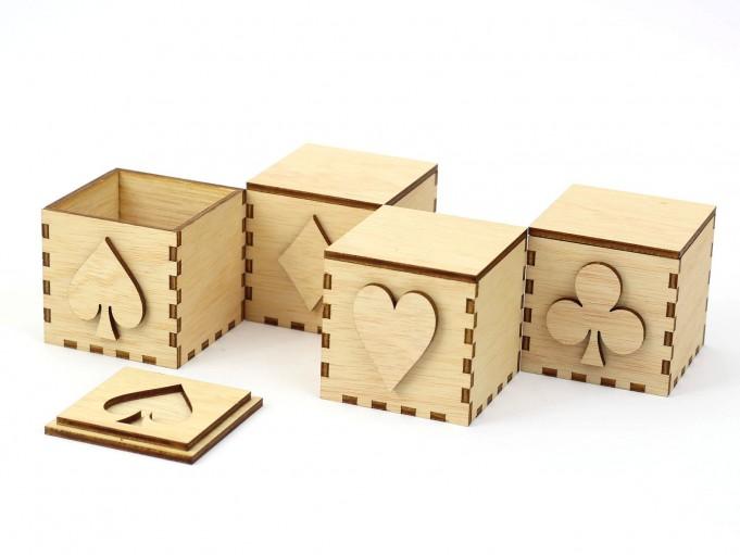 Kajhuchä Q-Box Poker en zig-zag