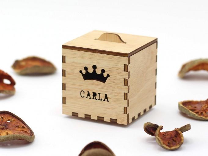 Kajhuchä Q-Box - Corona y tapa con asa