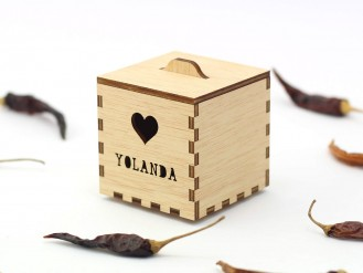 Kajhuchä Q-Box - Corazón y tapa con asa