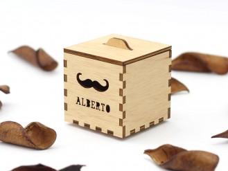 Kajhuchä Q-Box - Bigote y tapa con asa
