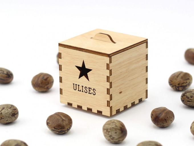 Kajhuchä Q-Box - Estrella y tapa con asa