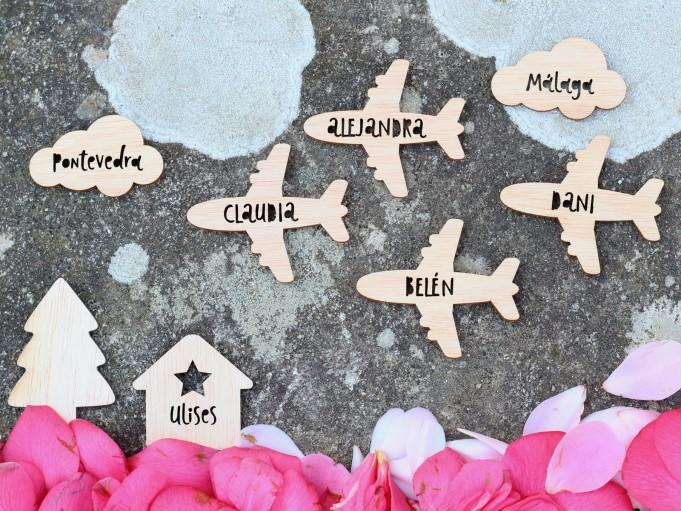 Etiqueta avión - grupo vacaciones