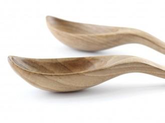 Cucharas de nogal - perfil