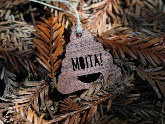 Etiqueta cacola con mensaje - MOITA