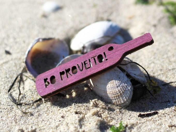 Etiqueta botella con mensaje - BO PROVEITO