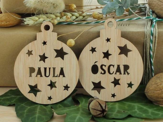 Bola Navidad - Paula Óscar - natural