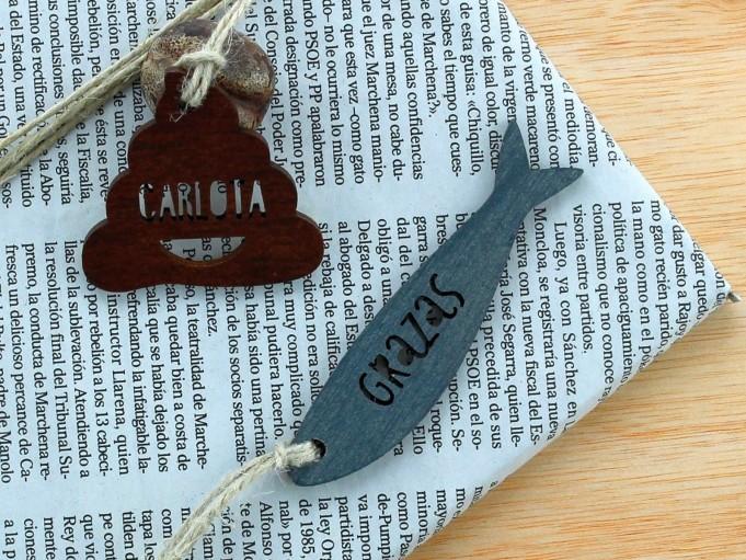 Etiqueta cacola - Carlota