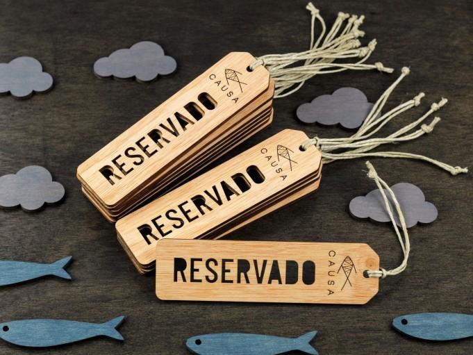 Etiqueta RESERVADO - CAUSA