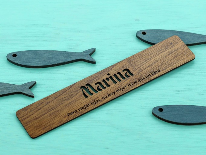 Marcapáginas Libraria - Marina
