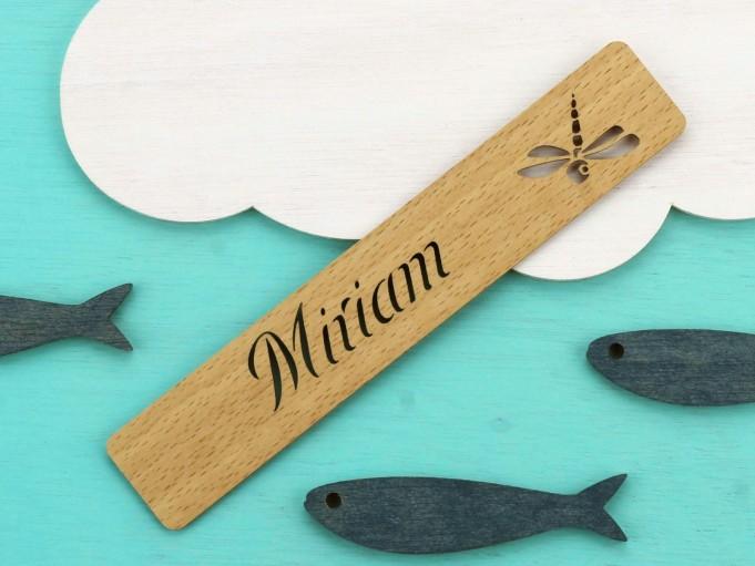 Marcapáginas libélula haya - Miriam