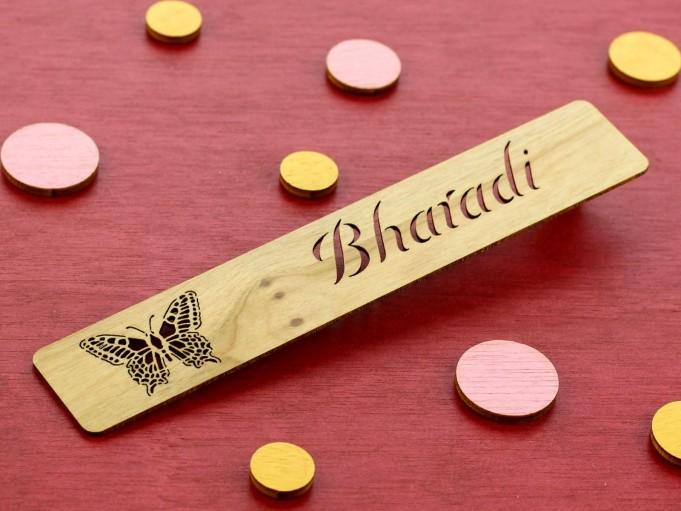 Marcapáginas mariposa 2 - Bharadi