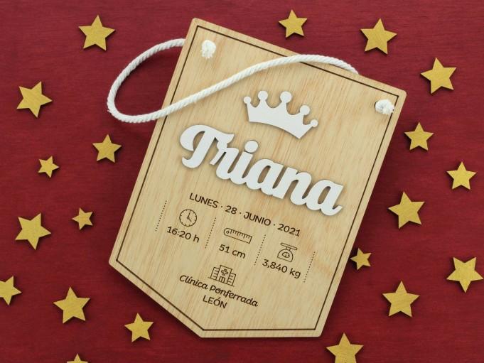 Banderín natalicio - Triana