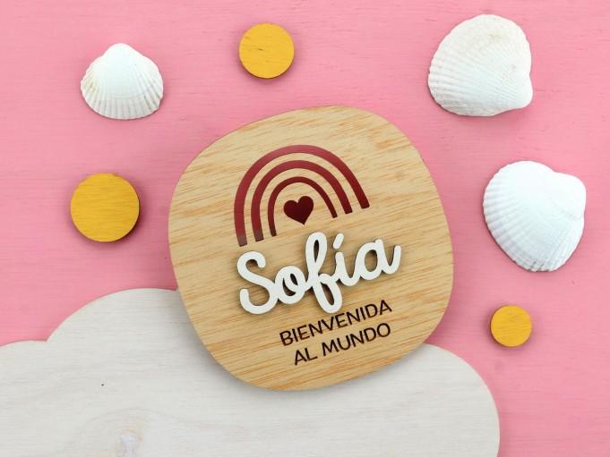 Cartelito bienvenida - Sofía