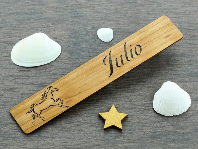 Marcapáginas Caballo - Julio