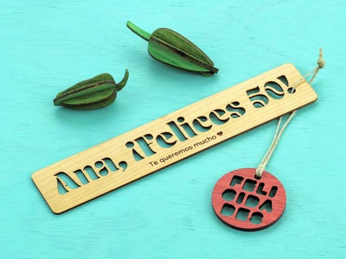 Marcapáginas Fronda - Ana felices 50
