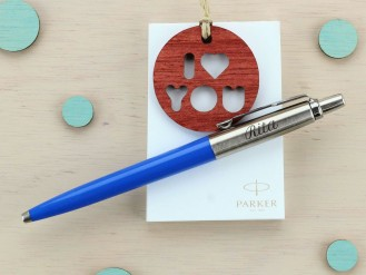 Bolígrafo Jotter Originals Pop Art - Azul- Rita
