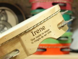 Grabado pandereta Irene