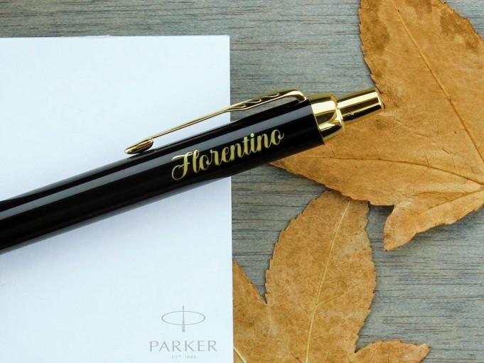 Bolígrafo Parker IM -laca negra GT - Florentino