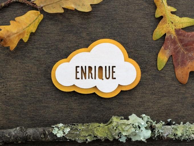 Imán nube - mostaza - Enrique