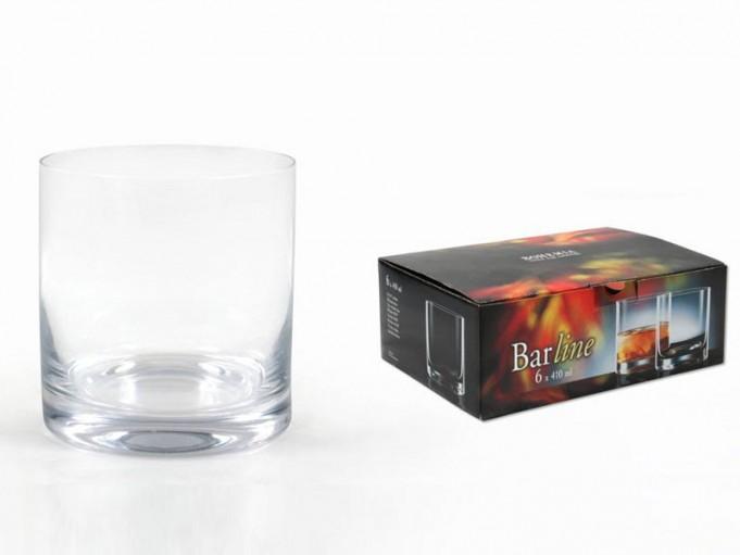 6x vaso whisky 401 ml.