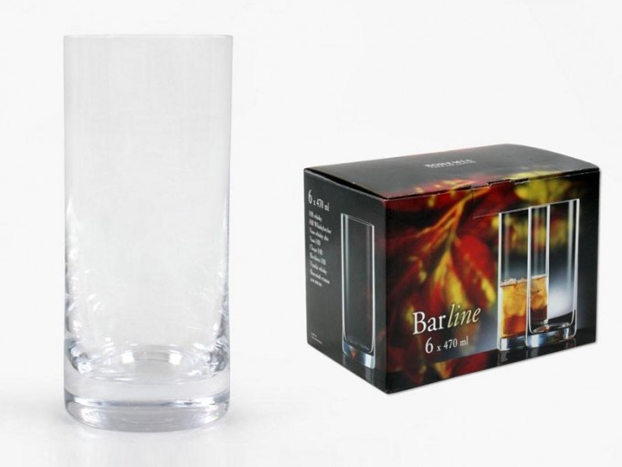 6x vaso whisky 470 ml.