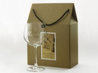 2 copas Borgoña 570 ml. en cajita regalo
