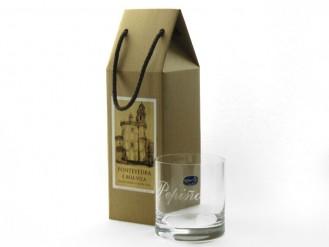2 vasos whisky 410 ml. en cajita regalo