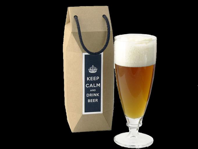 Copa Cerveza Harmonía 580 ml. en cajita regalo