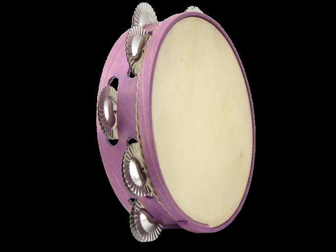 Pandereta color 9S violeta pálido