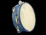 Pandereta color 7S azul