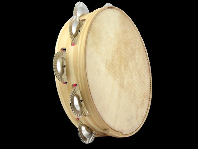 Pandereta tradicional pino 9S