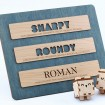 Sharpy, Roundy y Roman